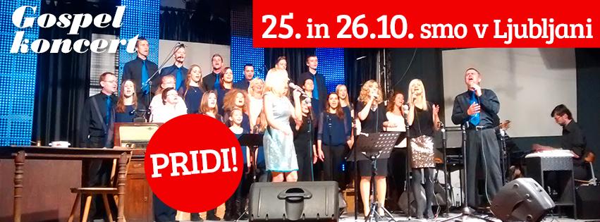 Koncert v Ljubljani