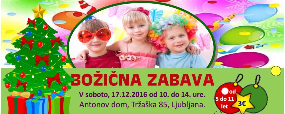 Božična zabava za otroke